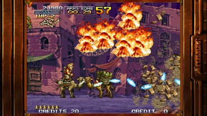 Screenshot for METAL SLUG X in France App Store