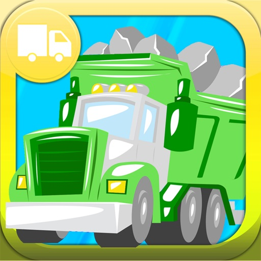 Trucks Cars Diggers Trains and Shadows Puzzles for Kids Lite