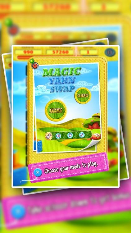 Magic Yarn Swap - Yarn and Scissors