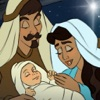 The Birth of Jesus: A Christmas Nativity Story Book - Children's Story Books, Read Along Bedtime Stories for Preschool, Kindergarten Age School Kids and Up - iPhoneアプリ