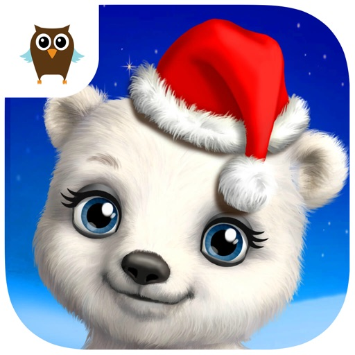 Christmas Animal Hair Salon – Winter Pets Hairstyle Makeover & Dress Up icon
