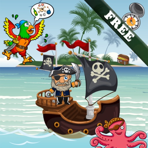 Pirates Puzzles for Toddlers and Kids - FREE Icon