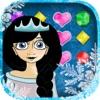 冰公主珠光宝气美眉 - 有趣的泡泡游戏为孩子和成人