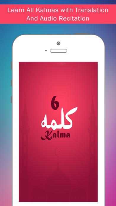 Islamic Kalima - 6 Kalima of Islam screenshot two