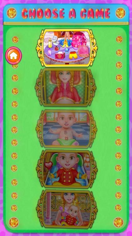 Queen Birth - Games for Girls screenshot-4