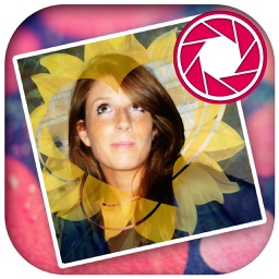 Photo editor for your profile with frames and love filters