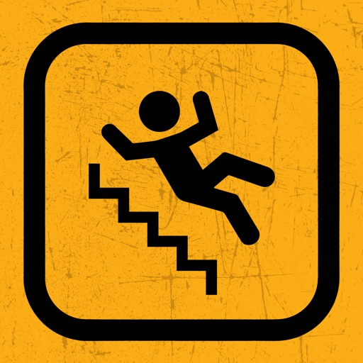 Downstairs — human falling simulator arcade game
