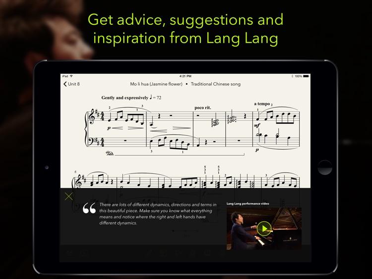 Mastering the piano with Lang Lang