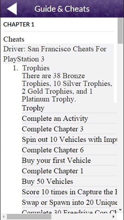 PRO - Driver San Francisco Game Version Guide