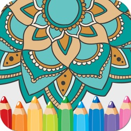 Coloring Books Mandala Adult Games For Relax