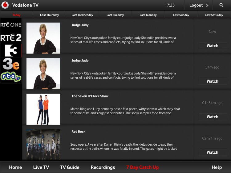 Vodafone TV Anywhere screenshot-3