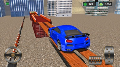 Speed-Auto Parkplatz Simulator 3D kostenlosScreenshot von 1