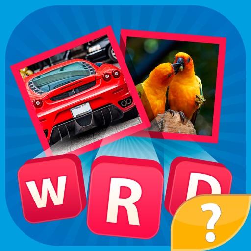 Hidden Words - игра викторина угадай слово на фото, найди слова, которые скрывают мозаика и картинки