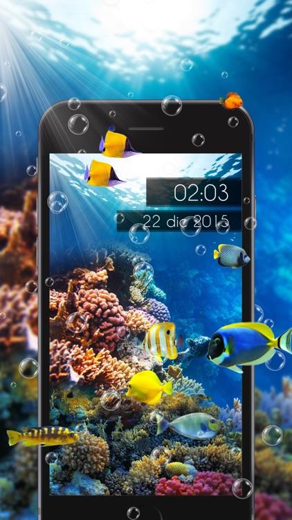 Amazing Aquarium Clock screenshot-3