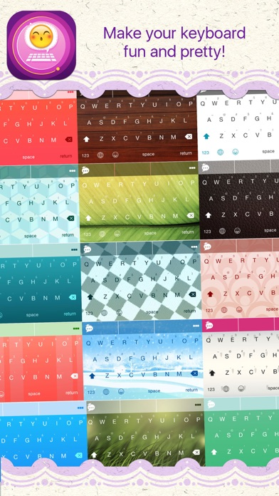 Photon Keyboard - Video to GIF, Themes & Emojis Screenshot