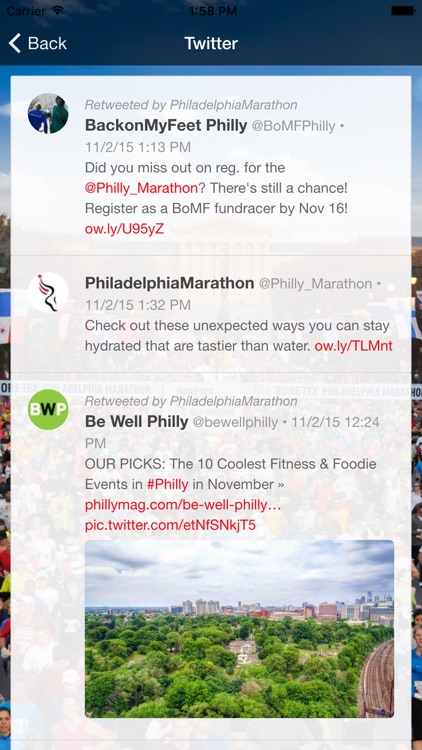 Philadelphia Marathon screenshot-3