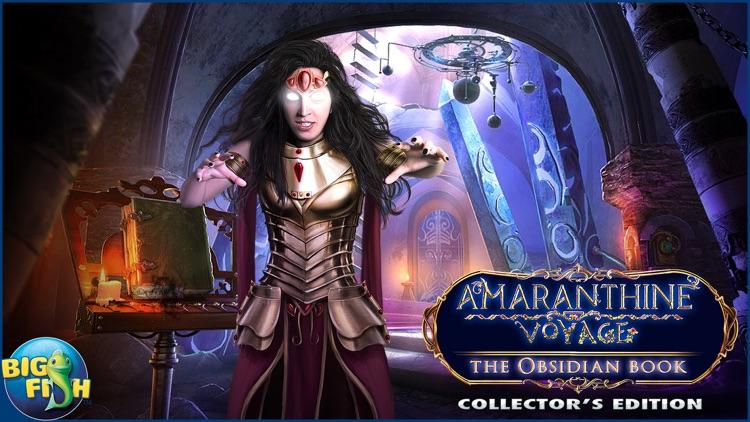 Amaranthine Voyage: The Obsidian Book - A Hidden Object Adventure screenshot-4