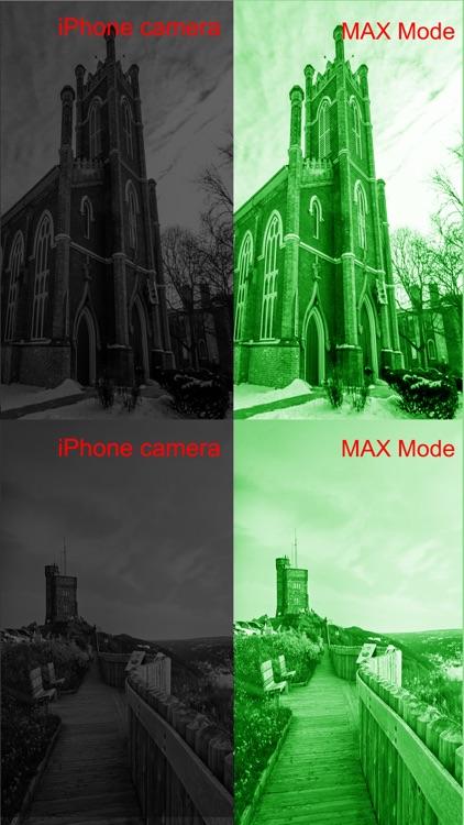 iNight Vision Camera Mode HD Photo & Video screenshot-3