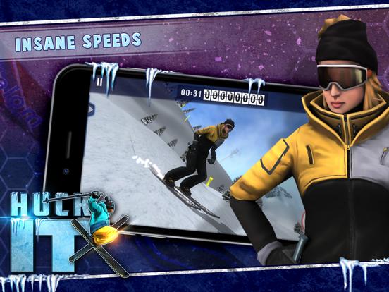 Huck It Skiing 3D iPad app afbeelding 4