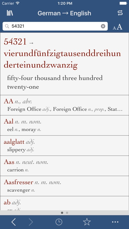 German-English Translation Dictionary and Verbs