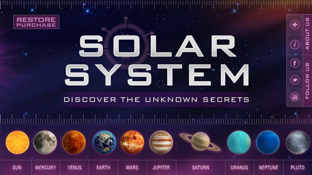 solar system hd on the app store