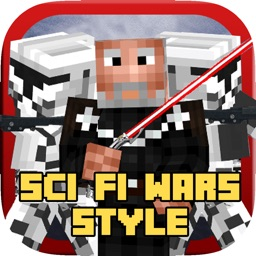 Sci Fi Wars Style 3D Skins For Minecraft PE