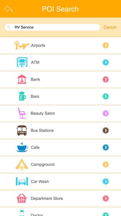 Great App for Winnebago Service Centers screenshot-3