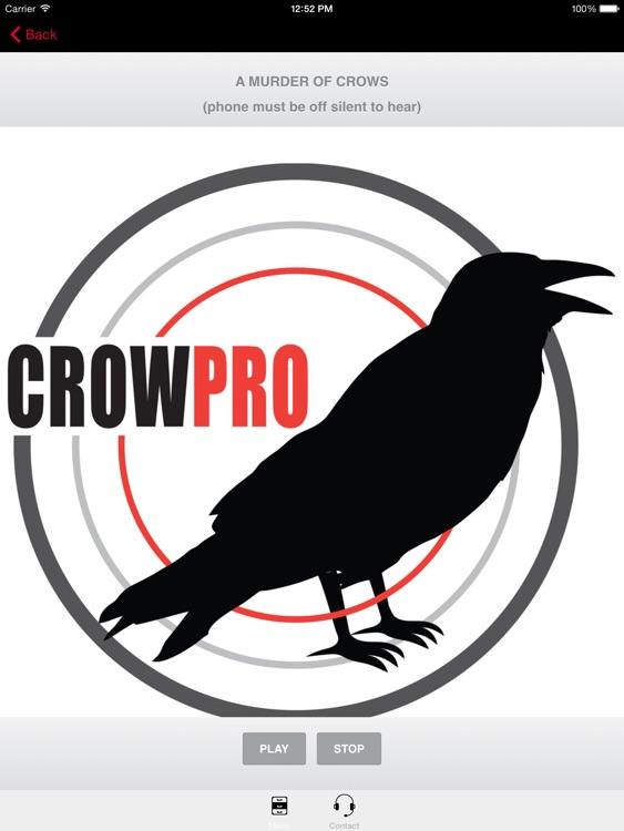 Crow Calling App-Electronic Crow Call Crow ECaller screenshot-3
