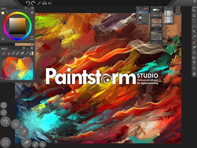 Paintstorm Studio screenshot-0