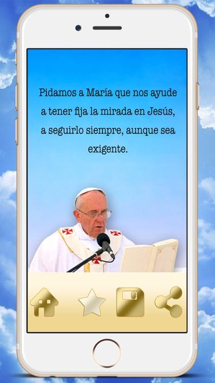 Phrases Pope Francisco I in Spanish catholic best quotations - Premium screenshot-4