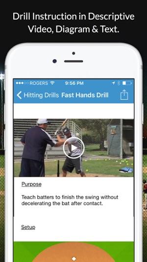 Baseball blueprint on the app store screenshots malvernweather Image collections