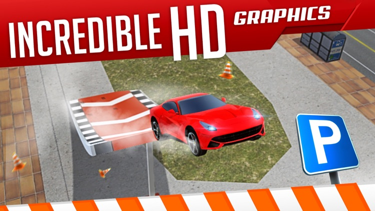Roof Jumping 3 Stunt Driver Parking Simulator an Extreme Real Car Racing Game screenshot-4