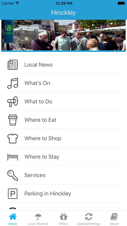 Hinckley App - Leicestershire - Local Business & Travel Guide