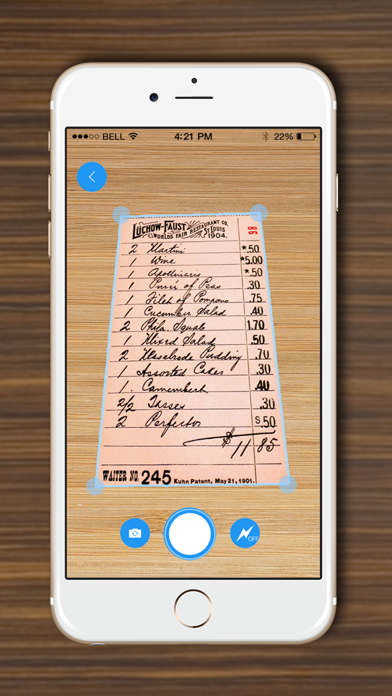 DocScanner - Scan Documents, Receipts, Biz Cardsのおすすめ画像1
