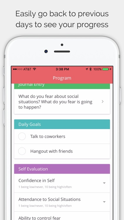 Anxiety Relief - 4 week program screenshot-3