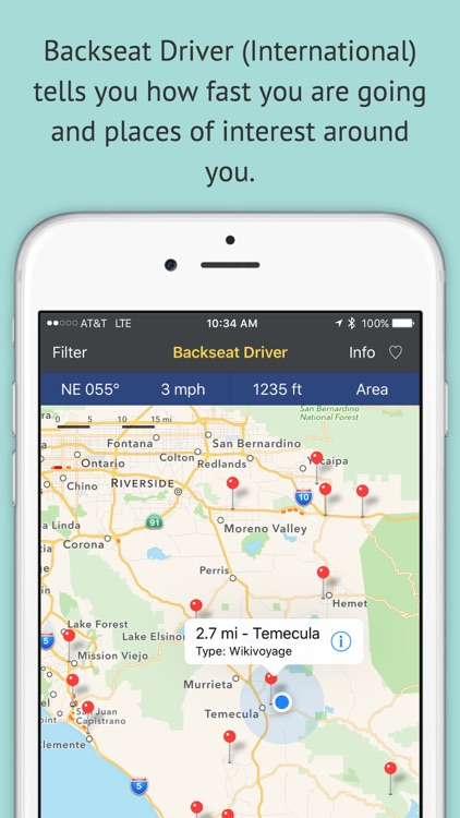 Backseat Driver International - Wikipedia and Wikivoyage Places of Interest