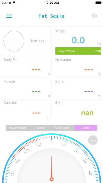 Healthy Body Tracker screenshot one