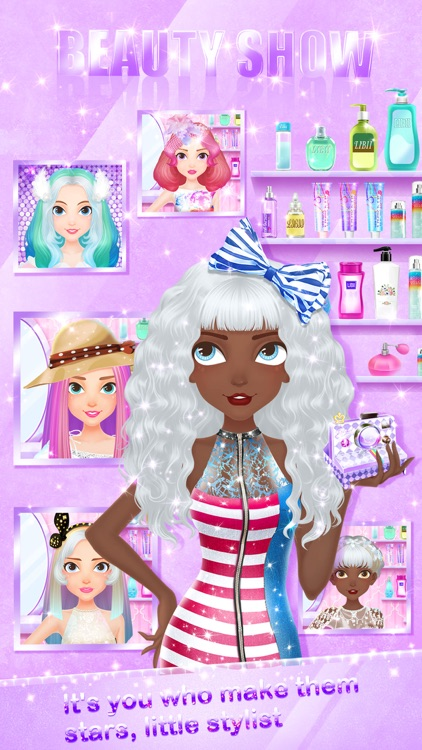 Hair Fashion™ - Girls Makeup, Dressup and Makeover Games screenshot-4
