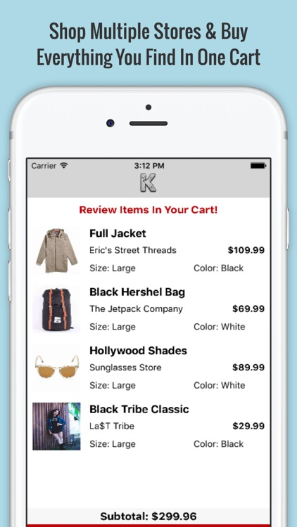 Koncrete, The Mobile Marketplace screenshot-3