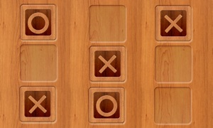 Tic Tac Toe - Wood