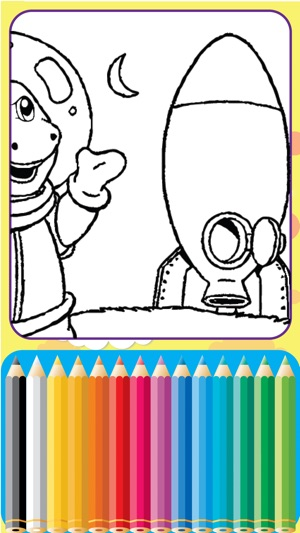 Dinosaurs Village coloring page Barney Friends on the App Store
