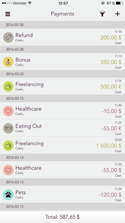 Budgeter App screenshot-2