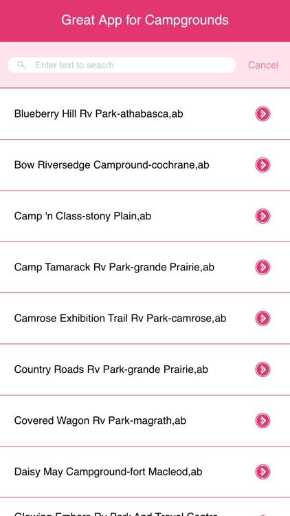 Great App for Campgrounds screenshot-1