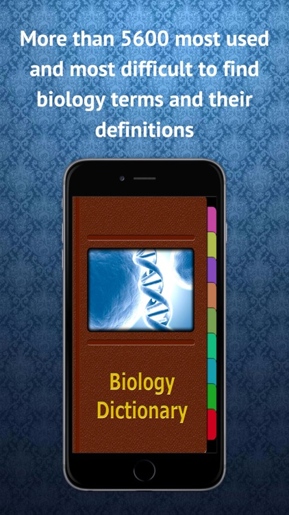 Biology Terms Dictionary