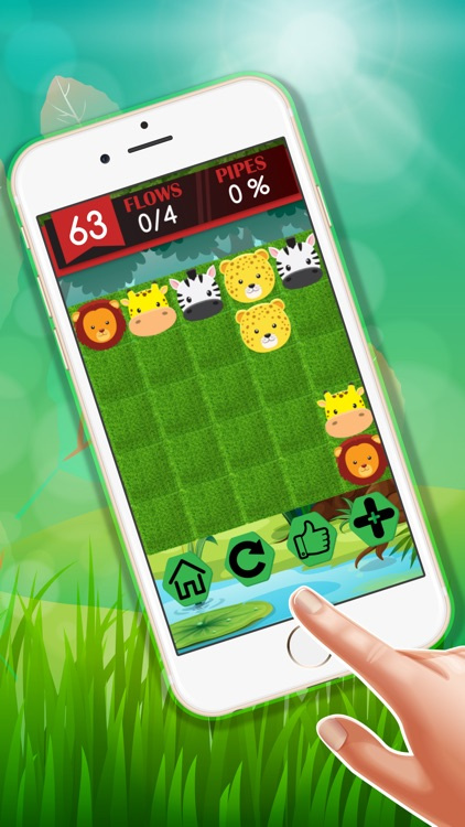 Hitch Animals : - Jungle best fun puzzle game for kids
