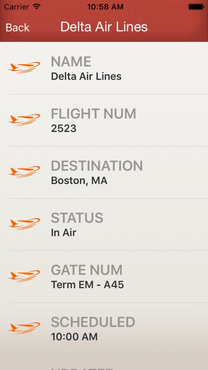 Flighty - Live Flight Arrival & Departure Status & Times screenshot-3