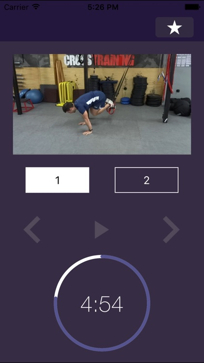 7 min Workout: Suspension Fitness Exercise Routine Trainer for Gym and Home Exercises – Force Hiit Training Workouts Center screenshot-1