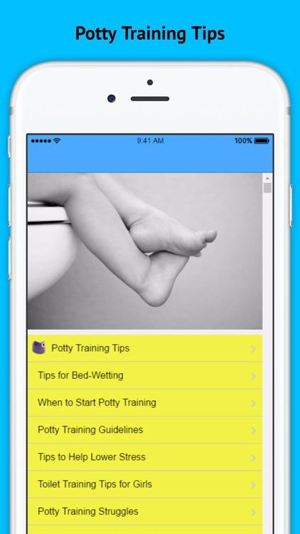 Potty Training Tips - Teaching Them the Right Way screenshot-3