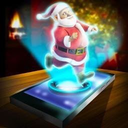 Hologram Santa 3D Simulator