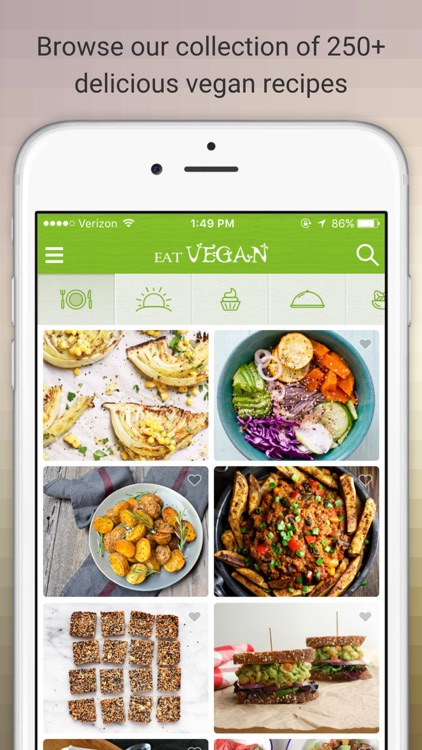Eat Vegan - Delicious Vegan Diet Recipes and Meals